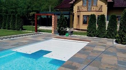 Schwimmbadrollladen Produktion 01